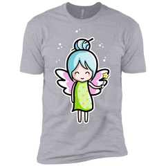 T-Shirts Heather Grey / YXS Kawaii Cute Fairy Boys Premium T-Shirt