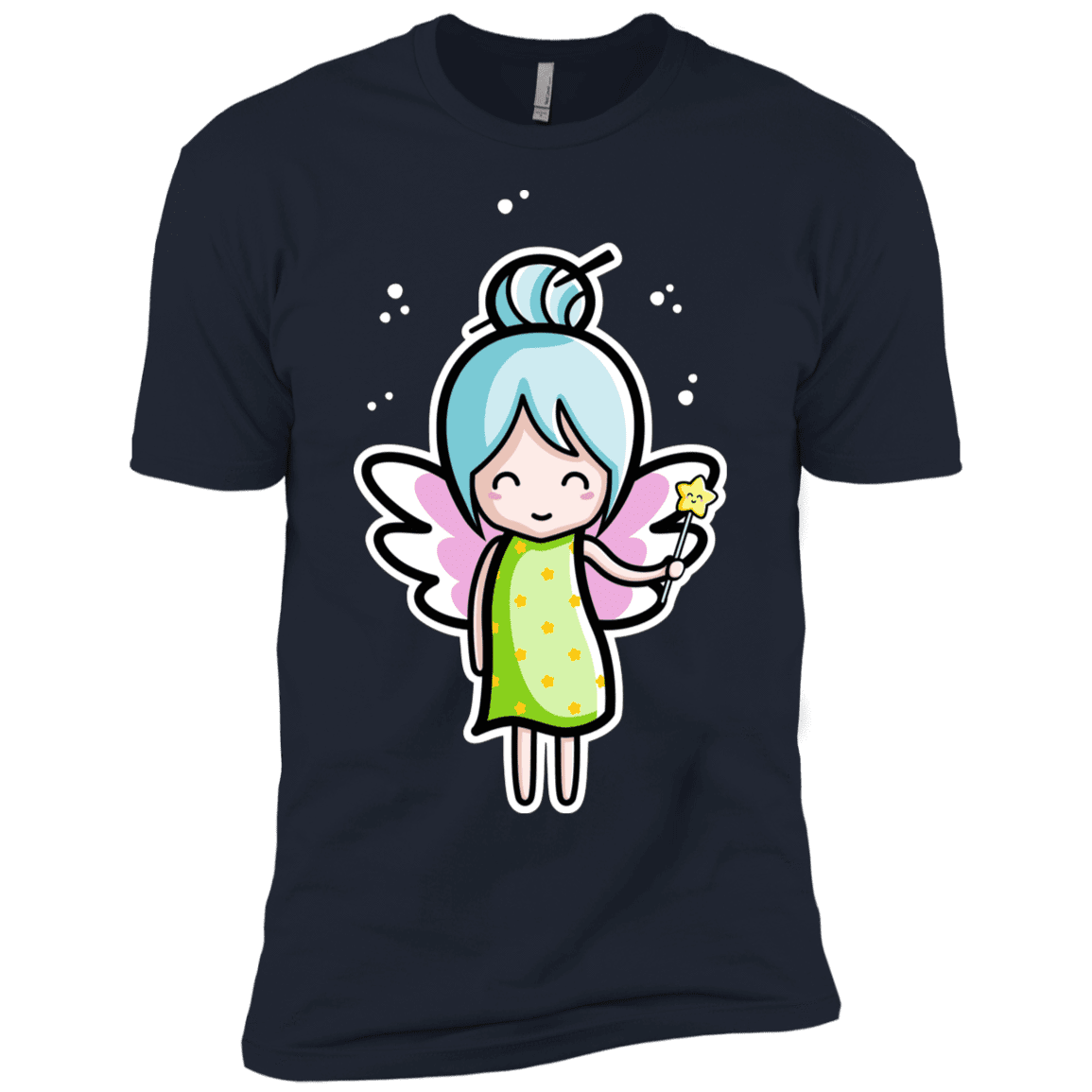 T-Shirts Midnight Navy / YXS Kawaii Cute Fairy Boys Premium T-Shirt