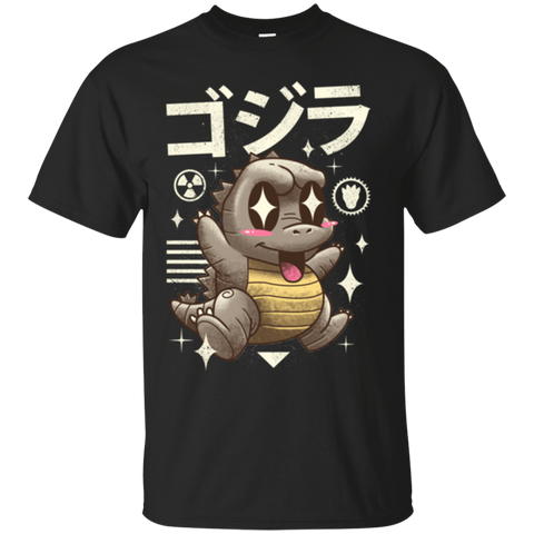 T-Shirts Black / Small Kawaii Lizard T-Shirt