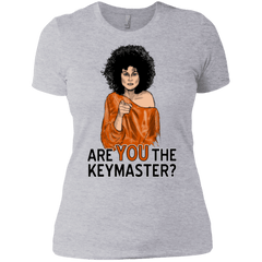 T-Shirts Heather Grey / X-Small Keymaster Women's Premium T-Shirt