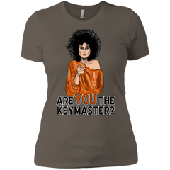 T-Shirts Warm Grey / X-Small Keymaster Women's Premium T-Shirt
