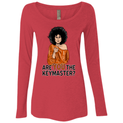 T-Shirts Vintage Red / Small Keymaster Women's Triblend Long Sleeve Shirt
