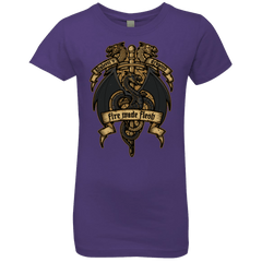 T-Shirts Purple Rush / YXS KHALEESIS DRAGONS Girls Premium T-Shirt