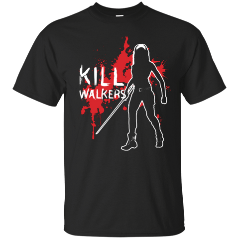 T-Shirts Black / Small Kill Walkers (sword) T-Shirt