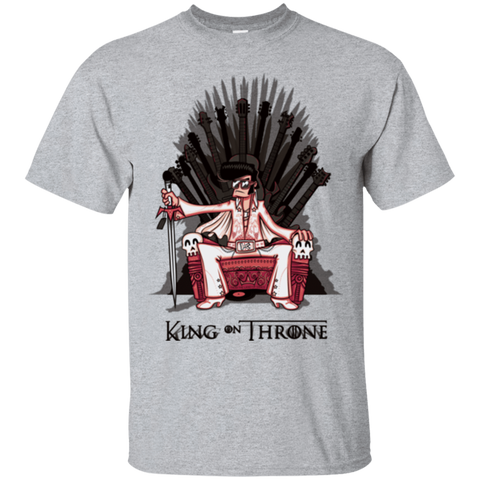 King on Throne T-Shirt