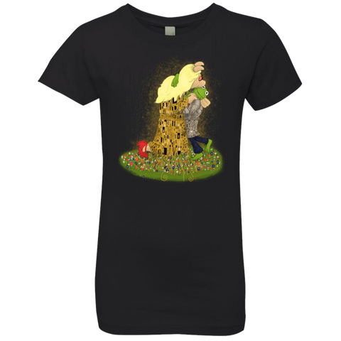 Kiss of Muppets Girls Premium T-Shirt