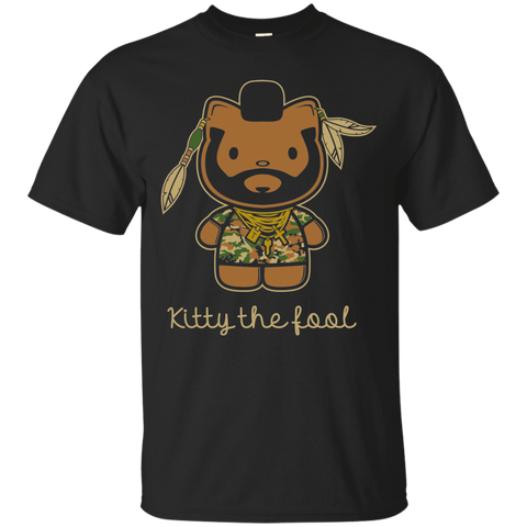 T-Shirts Black / Small Kitty the Fool T-Shirt