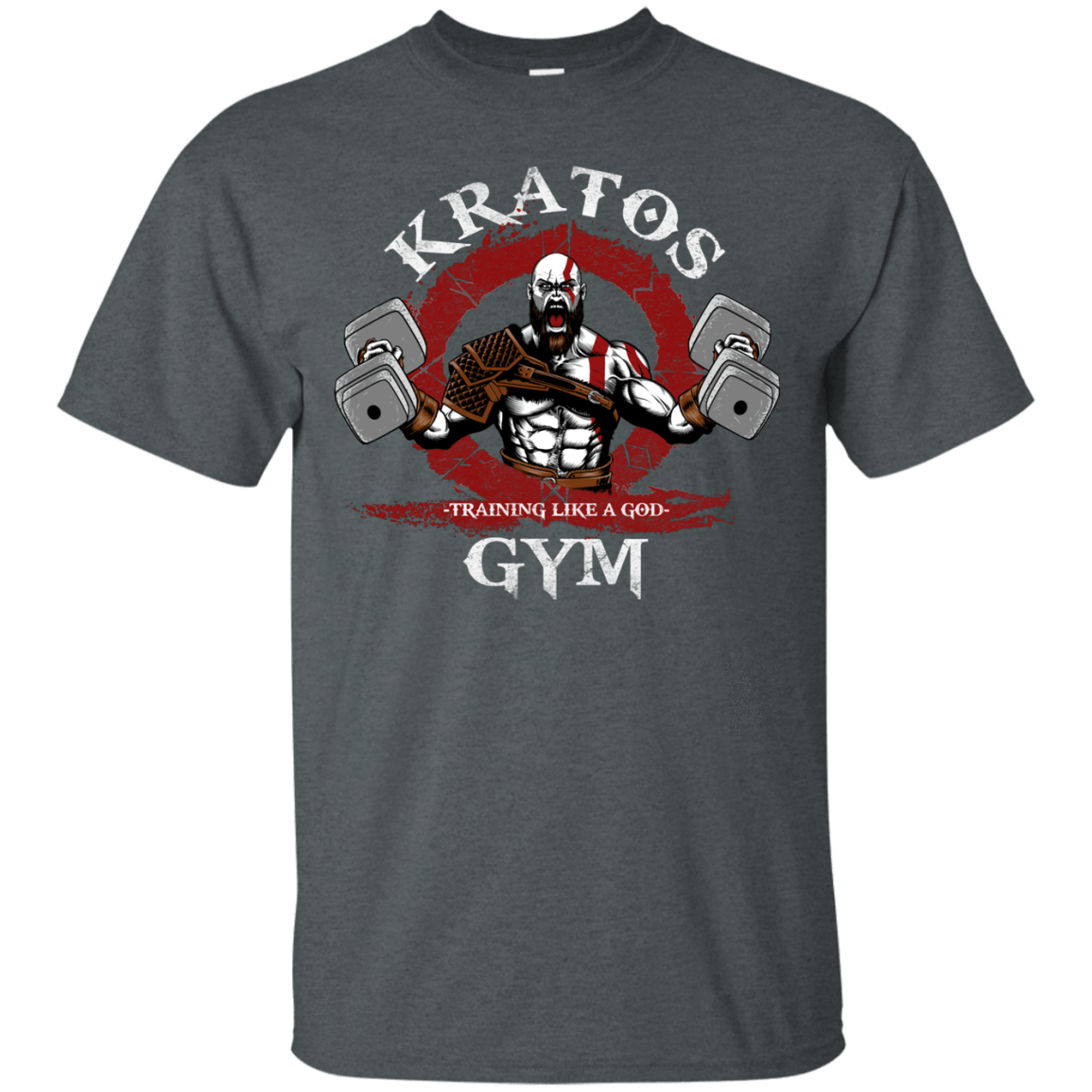 T-Shirts Dark Heather / S Kratos Gym T-Shirt
