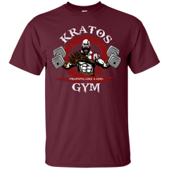 T-Shirts Maroon / S Kratos Gym T-Shirt