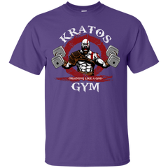 T-Shirts Purple / S Kratos Gym T-Shirt