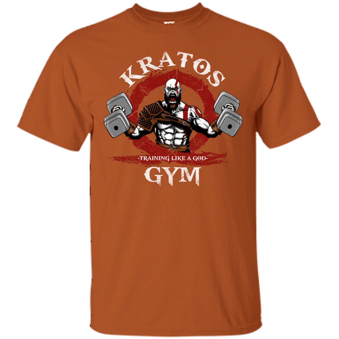 T-Shirts Texas Orange / S Kratos Gym T-Shirt