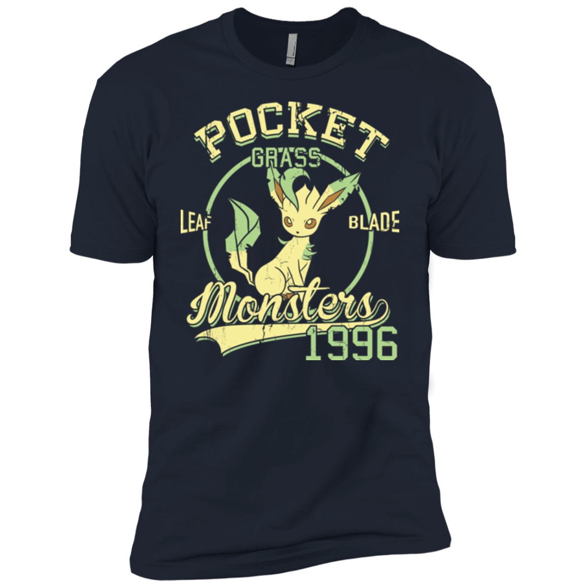 T-Shirts Midnight Navy / YXS Leaf Blade Boys Premium T-Shirt
