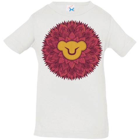 T-Shirts White / 6 Months Leaf Mane Mandala Infant PremiumT-Shirt