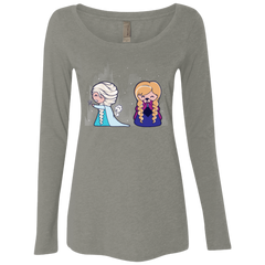 T-Shirts Venetian Grey / Small Let it Go fart Women's Triblend Long Sleeve Shirt