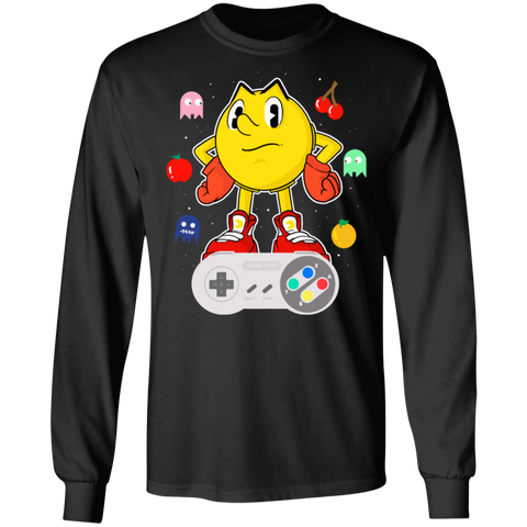 Lever Pac-Man Men's Long Sleeve T-Shirt