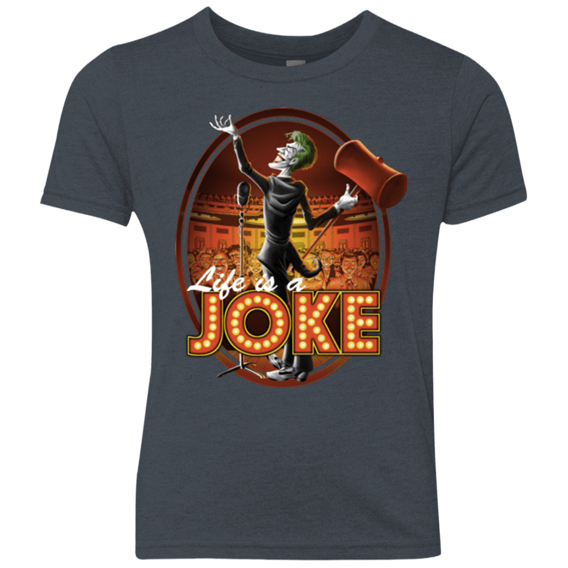 Life Is A Joke Youth Triblend T-Shirt