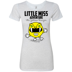 T-Shirts Heather White / Small Little Miss Adventure Women's Triblend T-Shirt