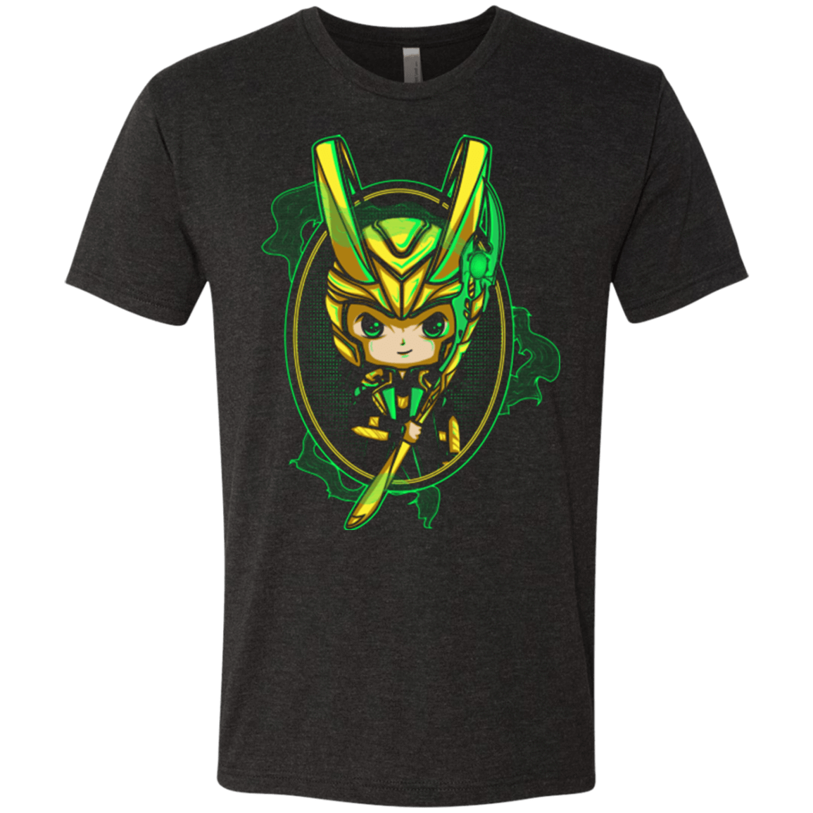 Loki Portrait Men's Triblend T-Shirt