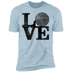 T-Shirts Light Blue / YXS LOVE Deathstar 1 Boys Premium T-Shirt