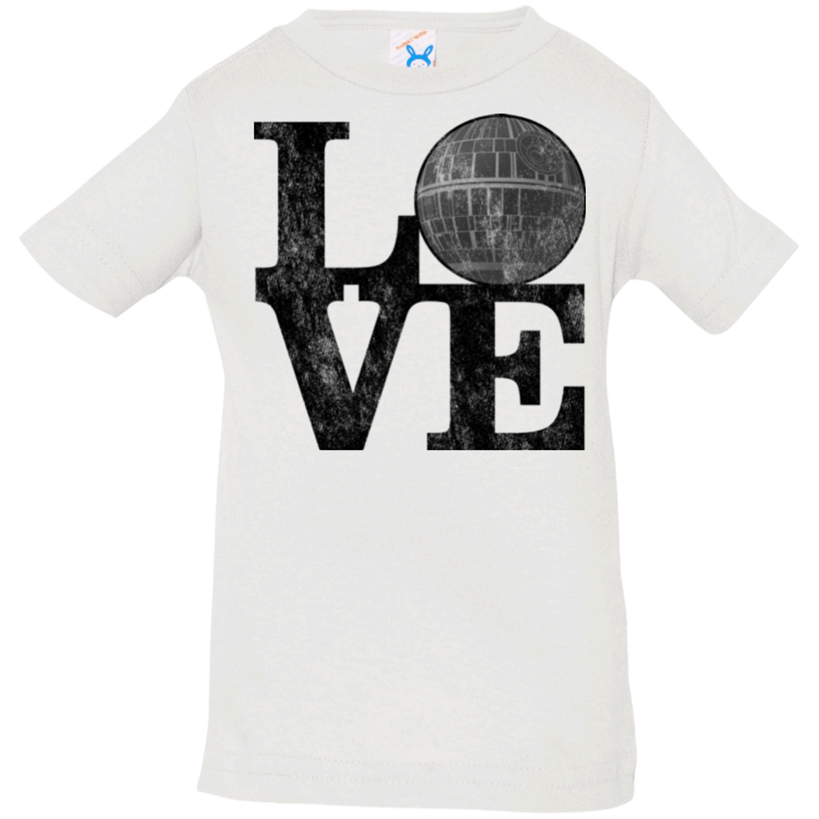 T-Shirts White / 6 Months LOVE Deathstar 1 Infant Premium T-Shirt