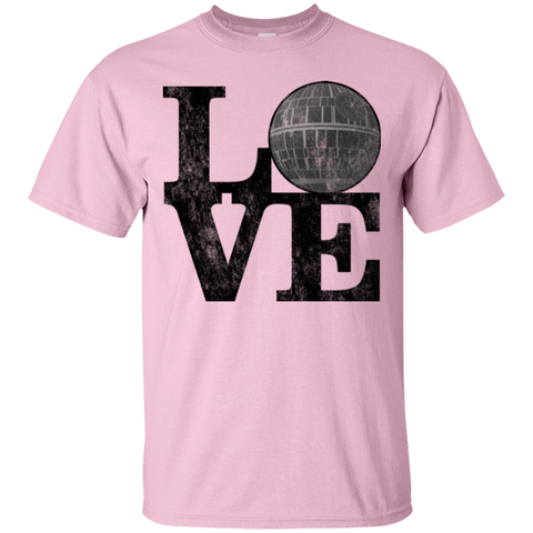 T-Shirts Light Pink / Small LOVE Deathstar 1 T-Shirt