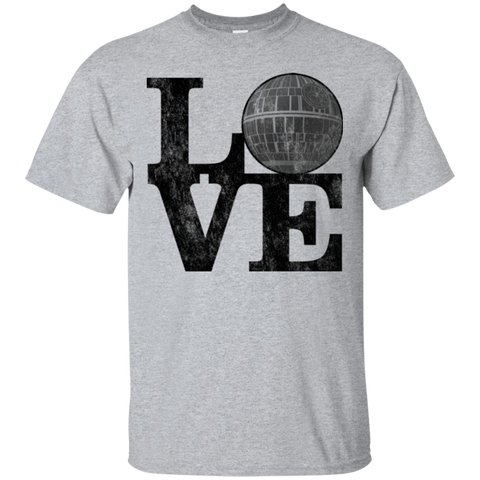 T-Shirts Sport Grey / Small LOVE Deathstar 1 T-Shirt