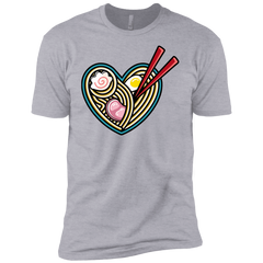 T-Shirts Heather Grey / YXS Love Ramen Boys Premium T-Shirt