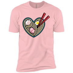 T-Shirts Light Pink / YXS Love Ramen Boys Premium T-Shirt