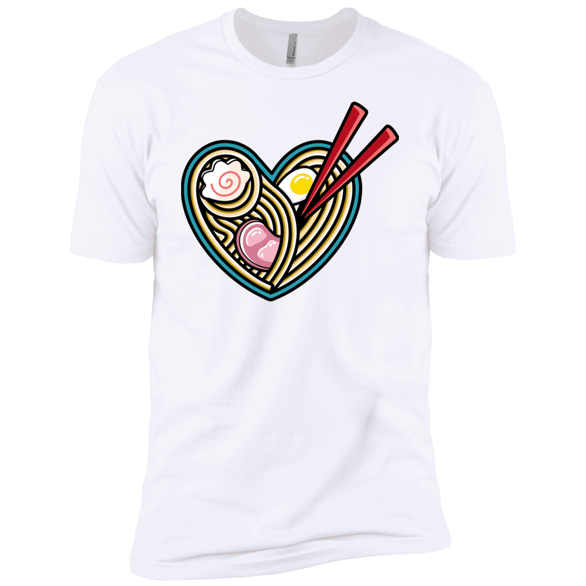 T-Shirts White / YXS Love Ramen Boys Premium T-Shirt