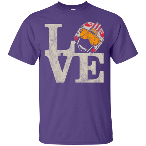 T-Shirts Purple / Small LOVE Rebel Pilot T-Shirt