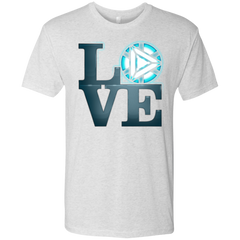 T-Shirts Heather White / Small Love Stark Men's Triblend T-Shirt
