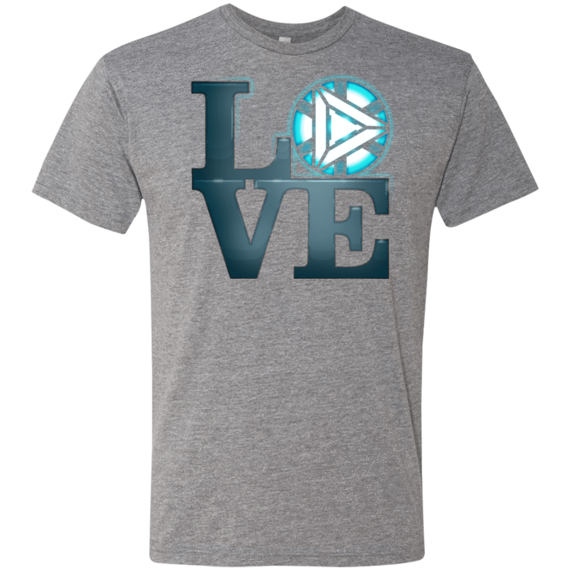T-Shirts Premium Heather / Small Love Stark Men's Triblend T-Shirt