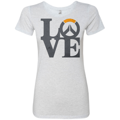 T-Shirts Heather White / Small Loverwatch Women's Triblend T-Shirt