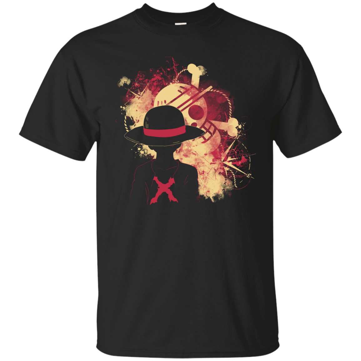T-Shirts Black / S Luffy 2018 T-Shirt