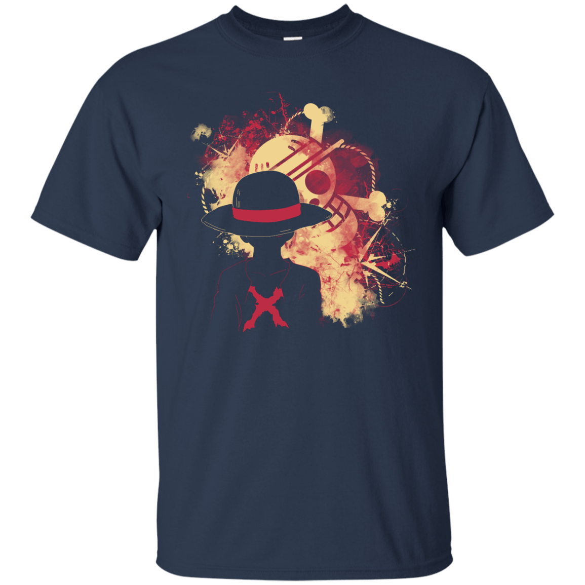 T-Shirts Navy / S Luffy 2018 T-Shirt
