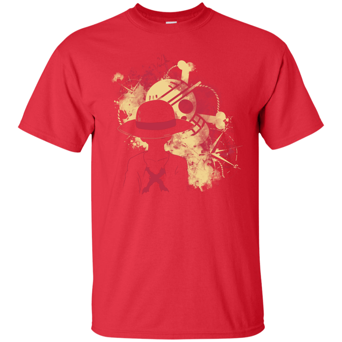 T-Shirts Red / S Luffy 2018 T-Shirt