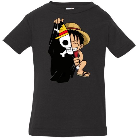 Luffy Flag One Piece Infant Premium T-Shirt