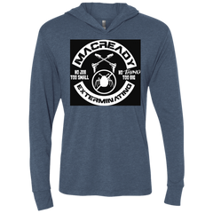 Macready V6 Triblend Long Sleeve Hoodie Tee