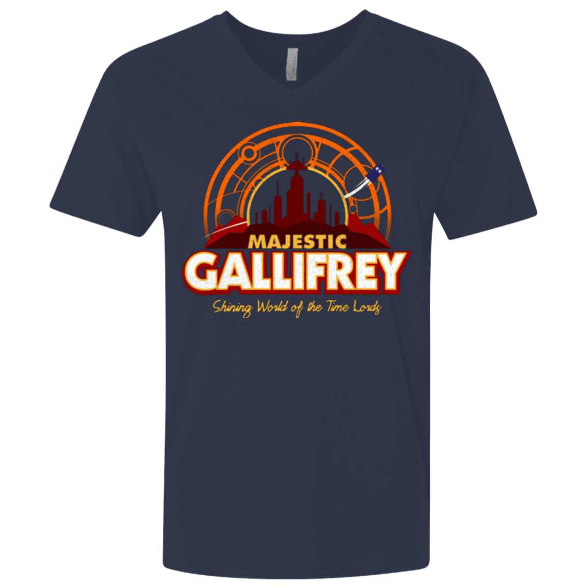 Majestic Gallifrey Men's Premium V-Neck
