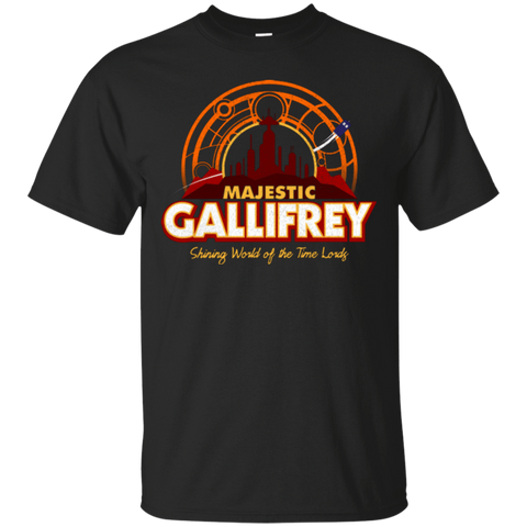 T-Shirts Black / Small Majestic Gallifrey T-Shirt