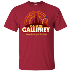 T-Shirts Cardinal / Small Majestic Gallifrey T-Shirt
