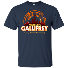 T-Shirts Navy / Small Majestic Gallifrey T-Shirt
