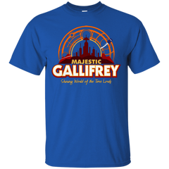 T-Shirts Royal / Small Majestic Gallifrey T-Shirt