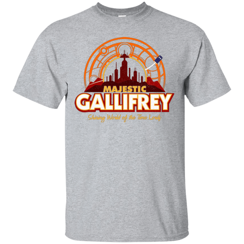 T-Shirts Sport Grey / Small Majestic Gallifrey T-Shirt