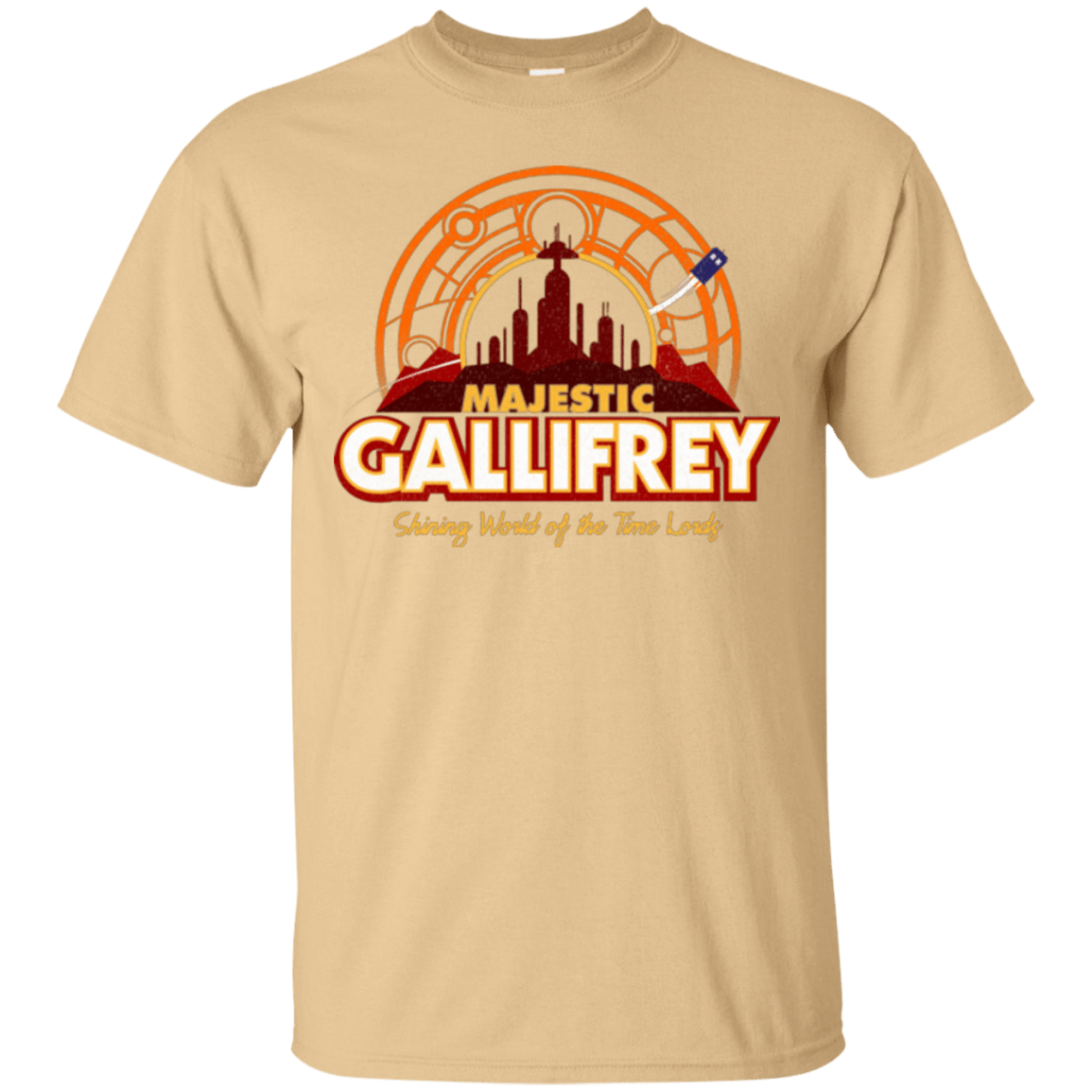 T-Shirts Vegas Gold / Small Majestic Gallifrey T-Shirt