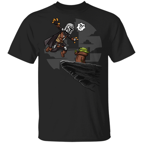 Mando Baby Yoda King Powers T-Shirt