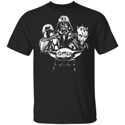 Mando Yoda Darth Rhapsody T-Shirt