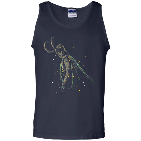 T-Shirts Navy / S Master of Illusions Men's Tank Top