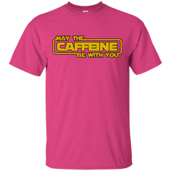 May the Caffeine Be with You T-Shirt