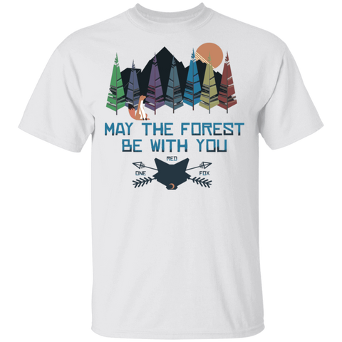 May The Forest Be With You One Red Fox T-Shirt